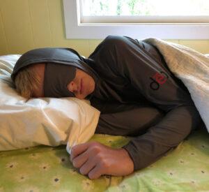 Dēp Slēpwear's Long Sleeve Sleep Hoodie