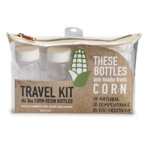 Sprayco Corn Resin Travel Bottle Kit