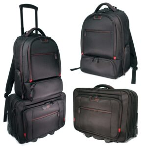 Mobile Edge Professional Backpack and Rolling Case Set
