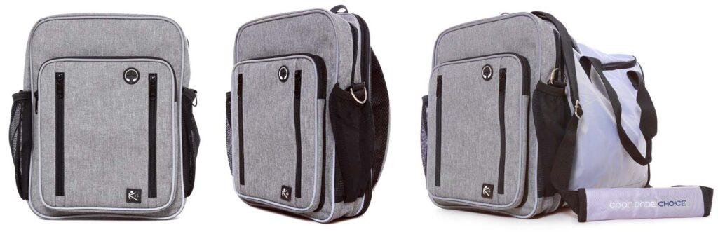 CoolDudeChoice Convertible Sling Bag